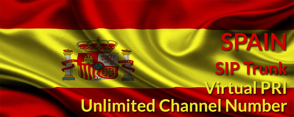 Spain Numbers with unlimited channels | Spain Virtual PRI