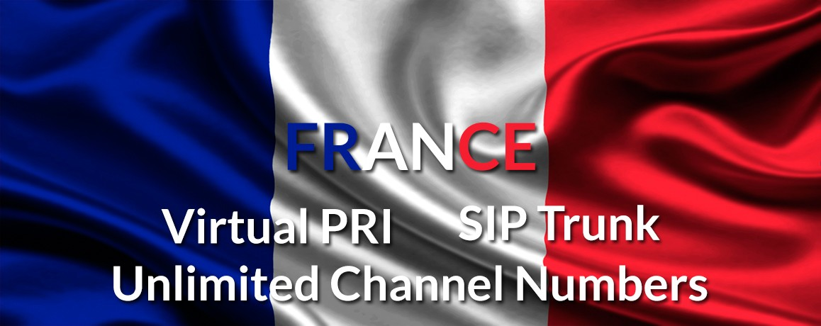 France Numbers with unlimited channels |Paris Virtual PRI|No Local Address Proof