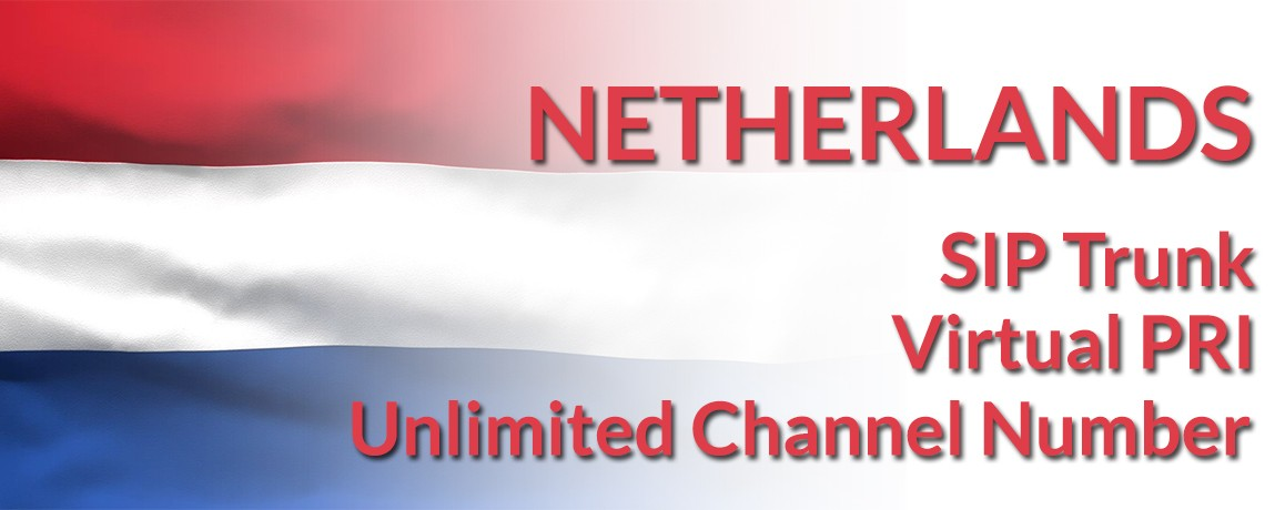 Netherlands Numbers with unlimited channels | Netherlands Virtual PRI