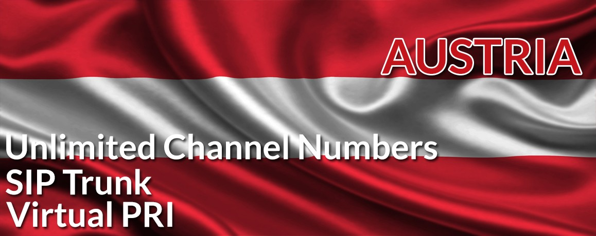 Austria Numbers with unlimited channels | NO Local Address Proof
