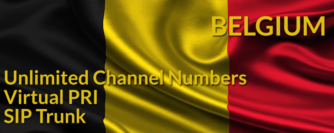 Belgium Numbers with unlimited channels | Belgium Virtual PRI