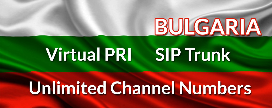 Bulgaria Numbers with unlimited channels | Bulgaria Virtual PRI