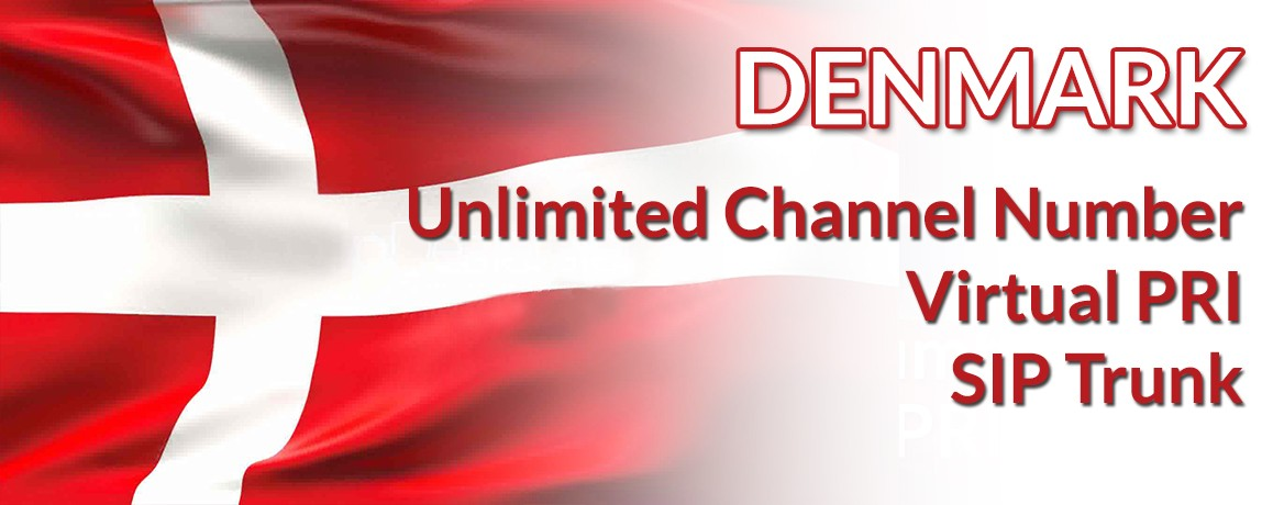 Denmark Numbers with unlimited channels | Denmark Virtual PRI