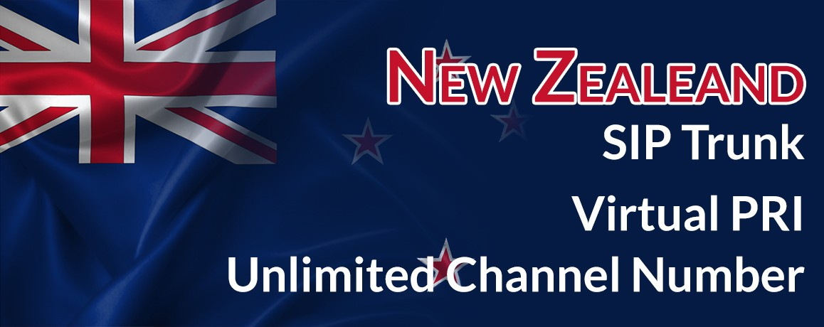 New Zealand Virtual Number|Unlimited channels|Virtual PRI