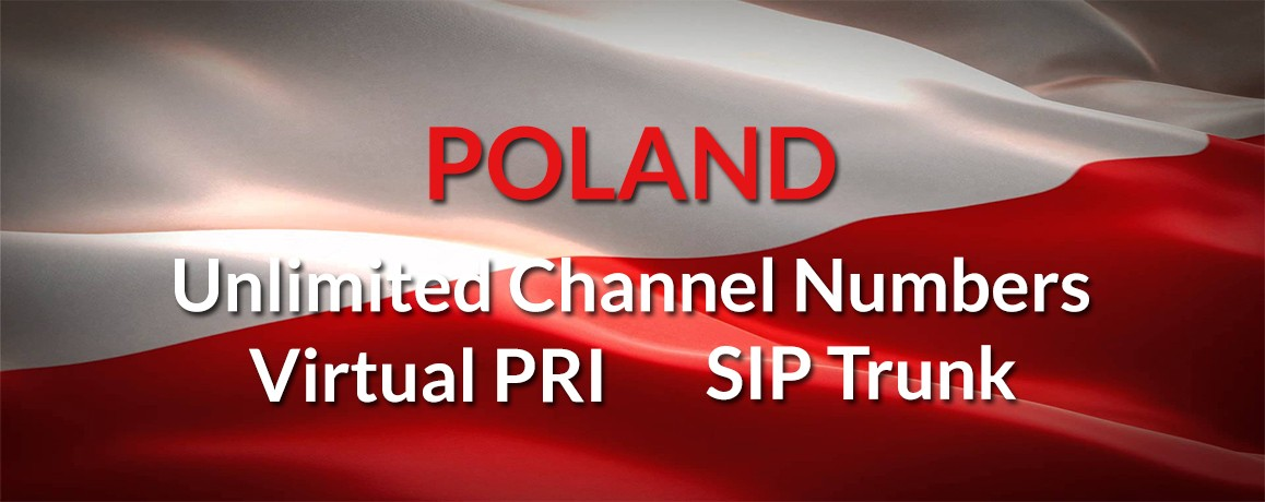 Poland Virtul Numbers with unlimited channels| Multiple Channels| Virtual PRI