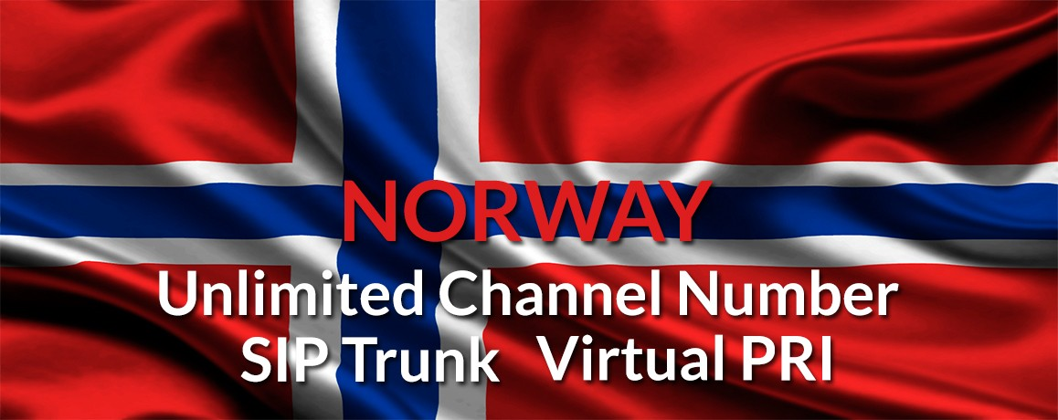 Norway Numbers with unlimited channels | Norway Virtual PRI