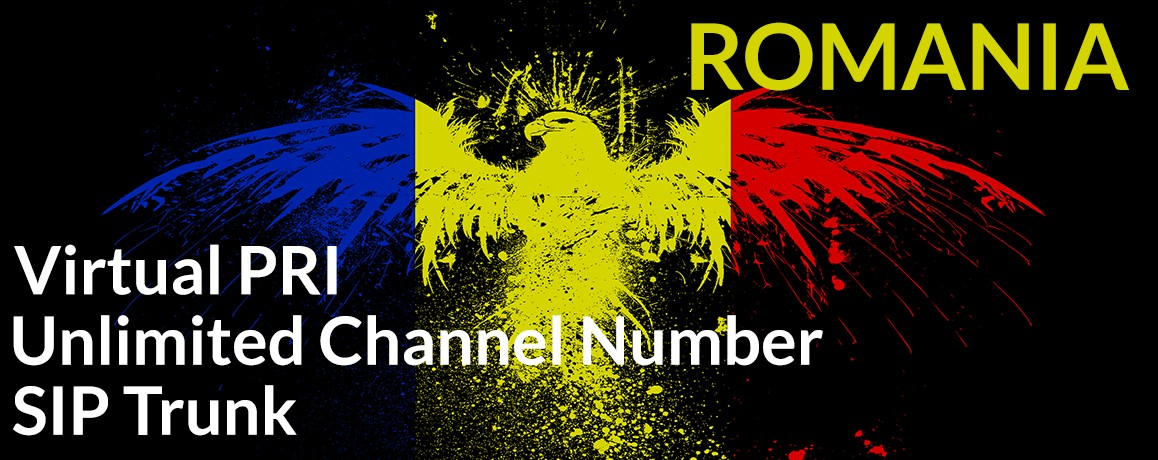 Romania Numbers with unlimited channels | Romania Virtual PRI