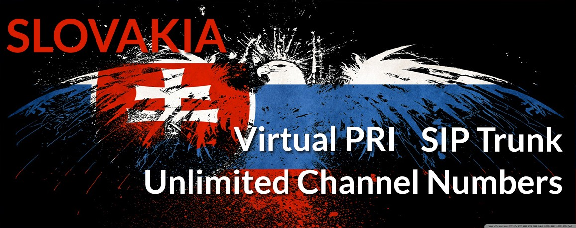 Slovakia Numbers with unlimited channels | Slovakia Virtual PRI