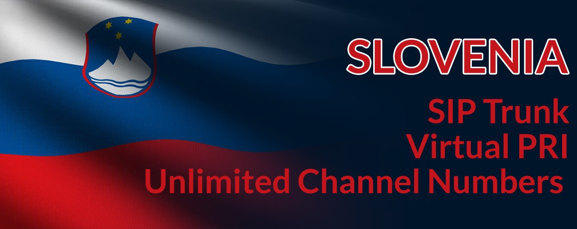 Slovenia Numbers with unlimited channels | Slovenia Virtual PRI
